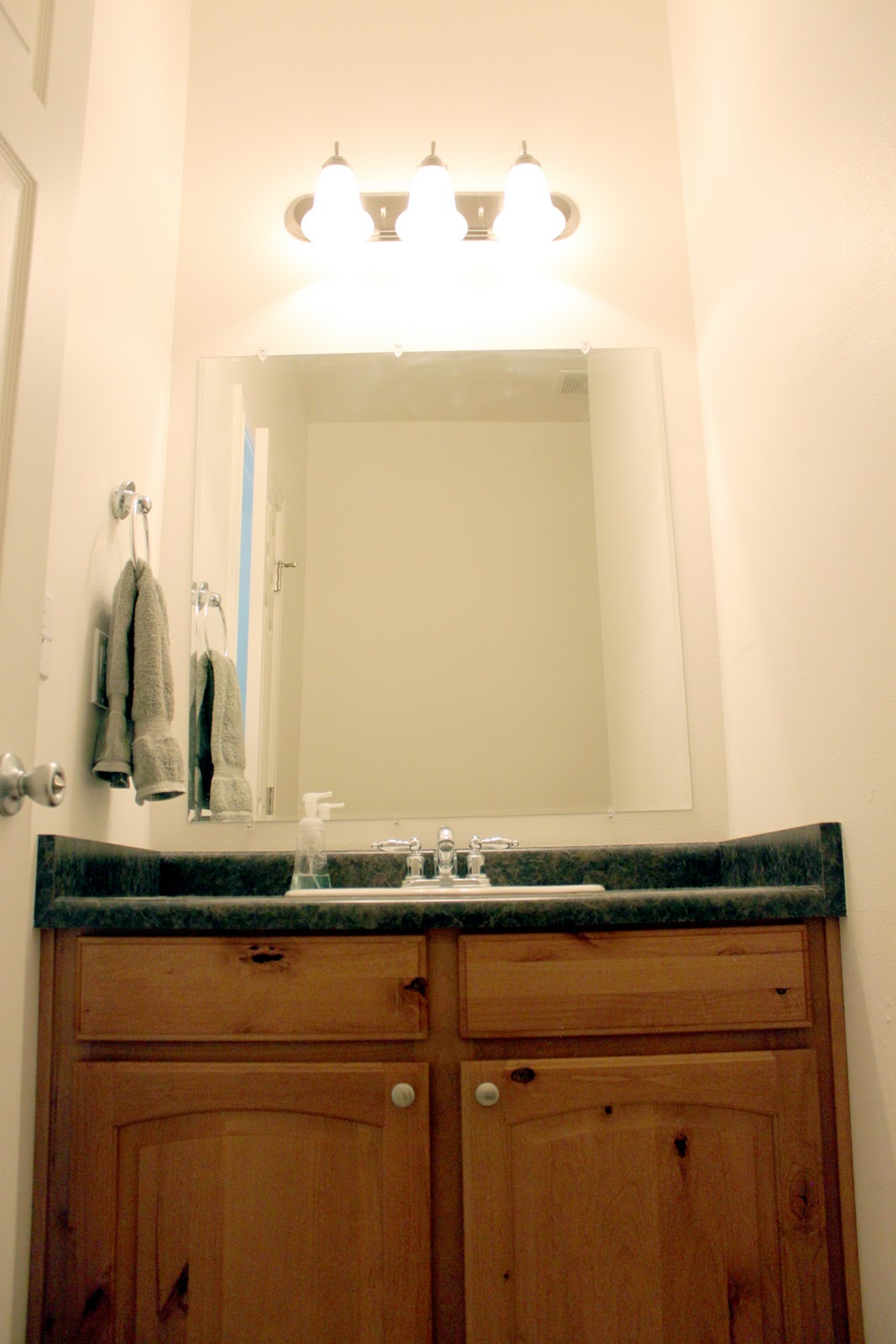 creatively christy: Bathroom Makeover: The Reveal