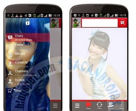 download Kumpulan BBM2 Mod JKT48 19 Member Lengkap Versi terbaru 2.7.0.23