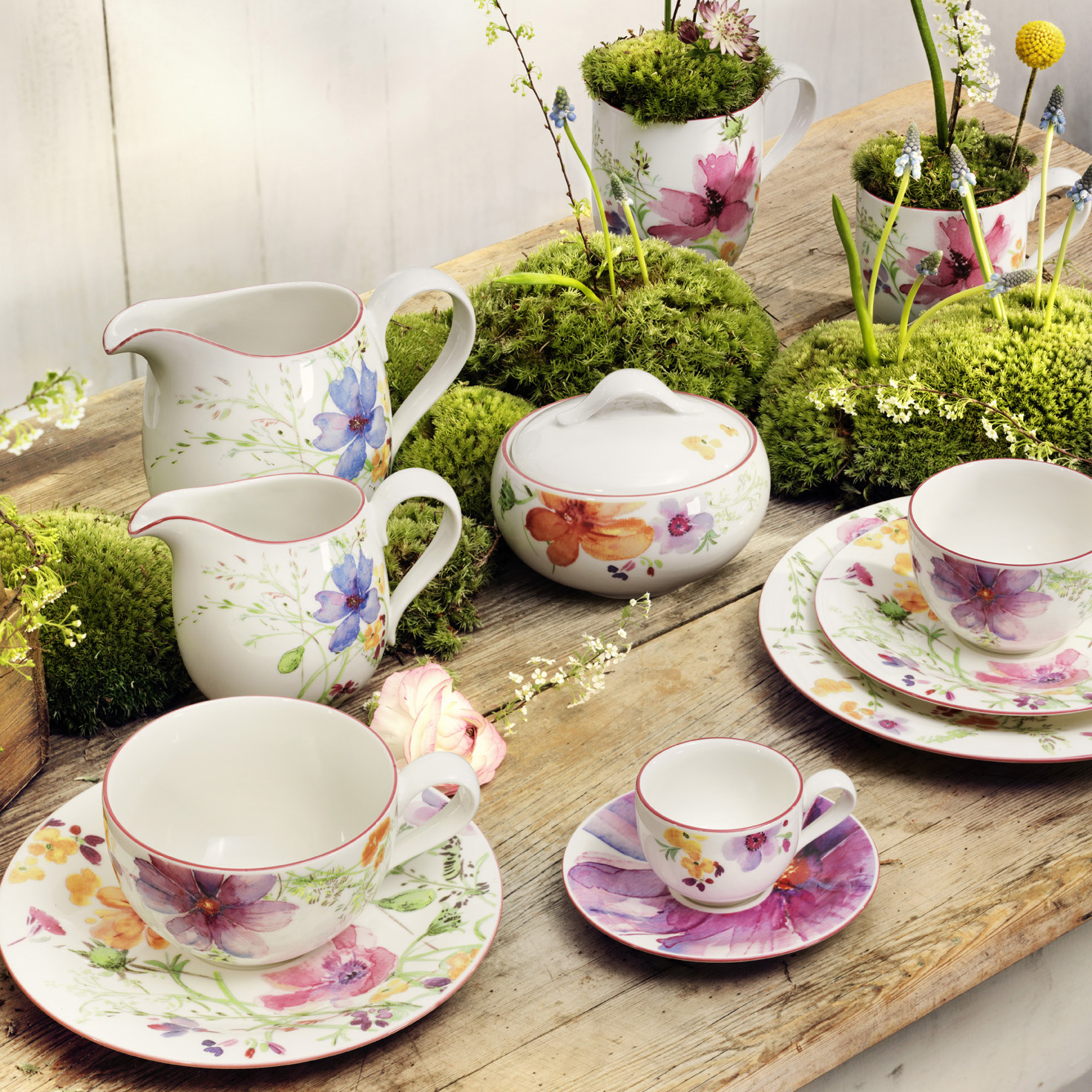 Good life 2 go villeroy boch mairefleur collection - Villeroy and bosh ...