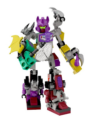 Hasbro Transformers Kre-O Micro Changers Combiners Series 2 - Abominus (Terrorcons)