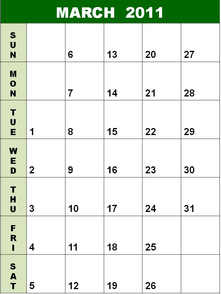 2011 daily calendar template. best place Conference , united week then Weekly+calendar+template+2011