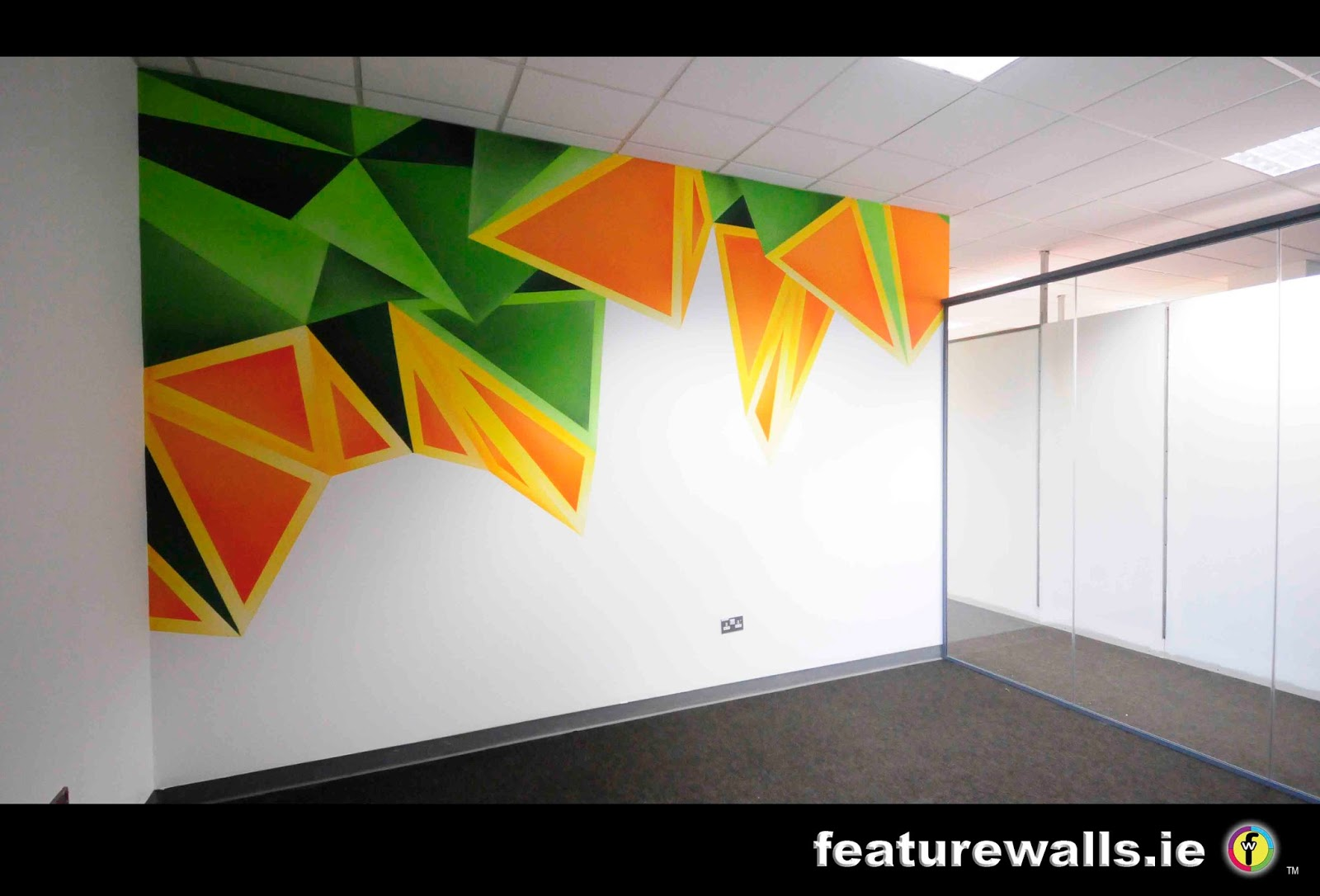 Mural painting professionals featurewalls for Corporate mural