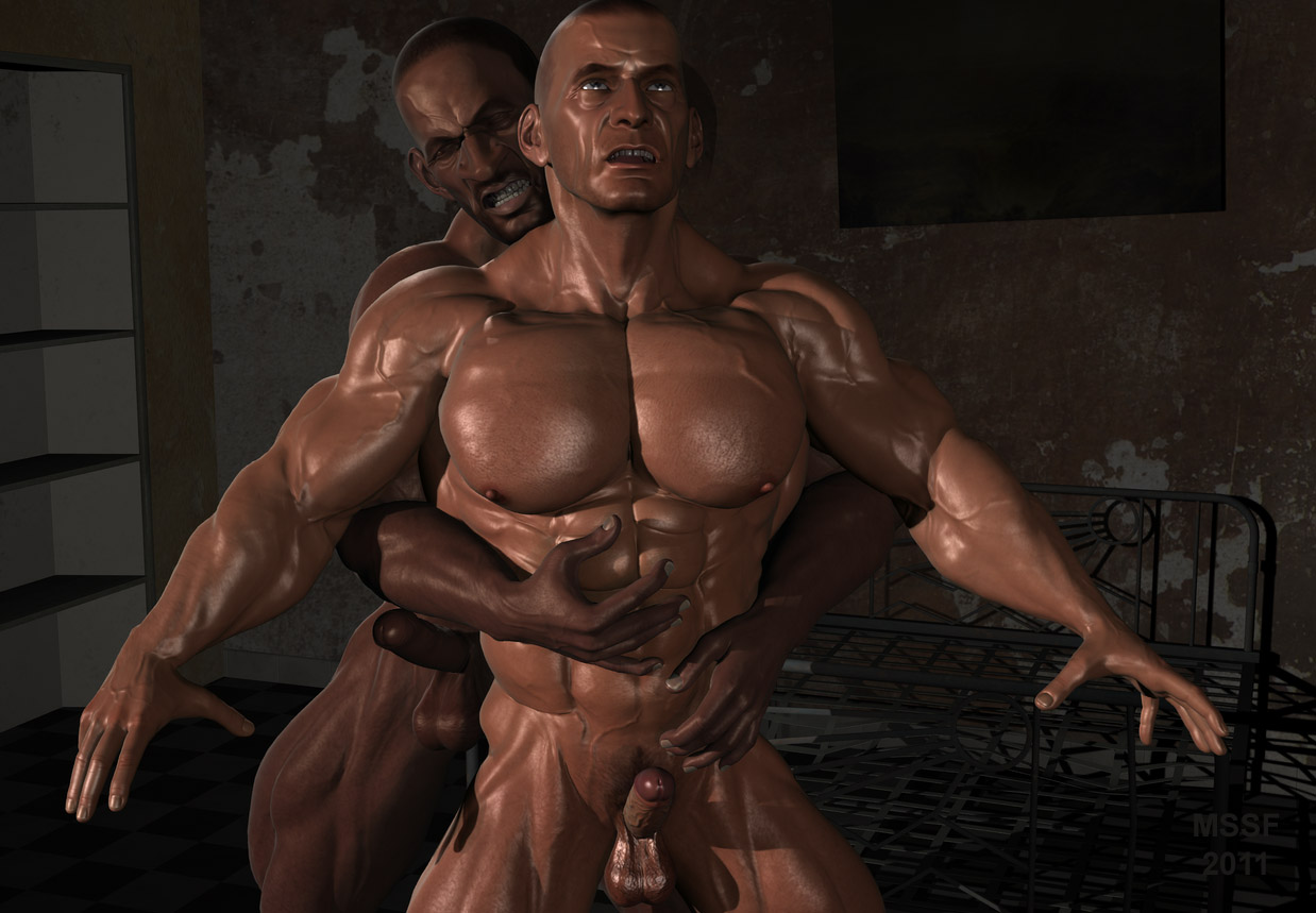 Animated 3d muscle man fucks girl nude images