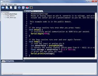 MariaMole IDE Arduino