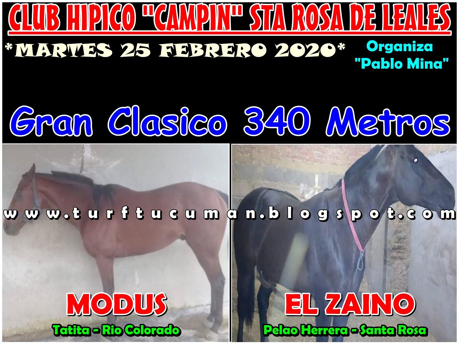 MODUS VS ZAINO