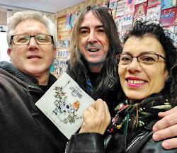 """Rubén Domeño, guitarrista y voz de """"Latxatarra"""" y su nuevo CD """"Excarabajos"""""""