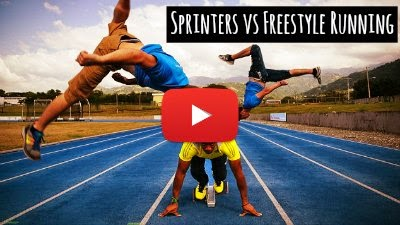 Watch how Professional Freestyle runners Outrun World Number 2 Sprinter Yohan Blake with Incredible Freestyle moves and Tricks via geniushowto.blogspot.com Extreme Sports videos