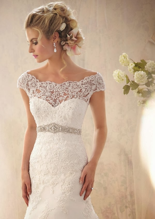wedding dress mori lee 2014 2620 103 Mori Lee by Madeline Gardner Spring 2014 Collection   Part 1