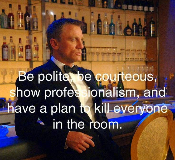 James Bond quotes, Daniel Craig
