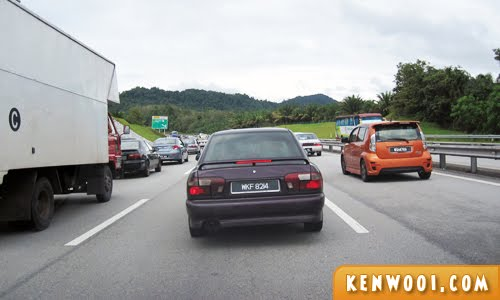 malaysia traffic jam
