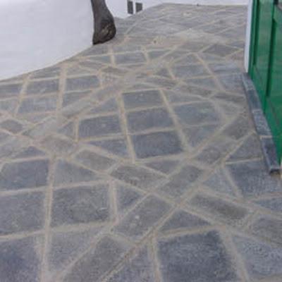 pavimentos decorativos con piedra artificial