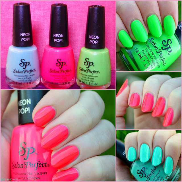 Salon Perfect Neon Pop Collection Swatches