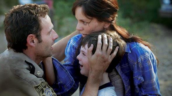 Rick, esposa e filho