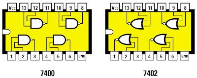 Sch mas des relais et comment les commander arduino for Les portes logiques de base