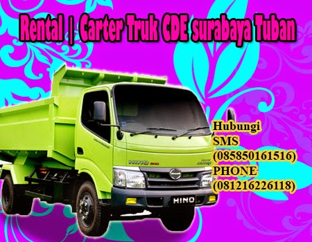 Rental | Carter Truk CDE surabaya - Tuban