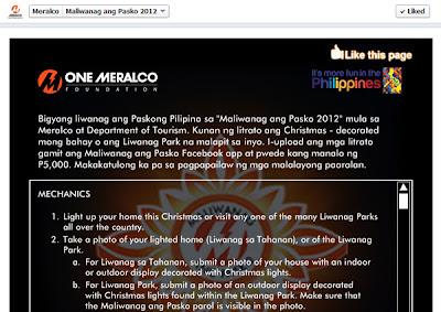 Meralco Maliwanag Ang Pasko 2012