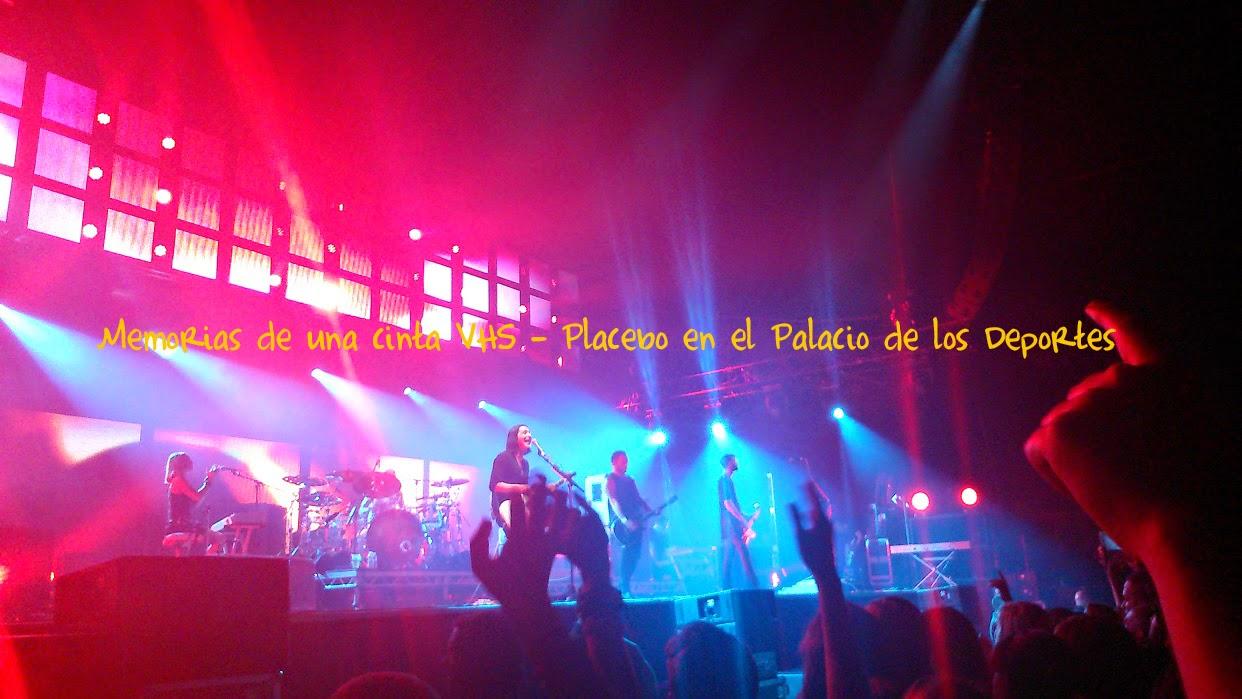 Placebo en Madrid, Palacio de los Deportes