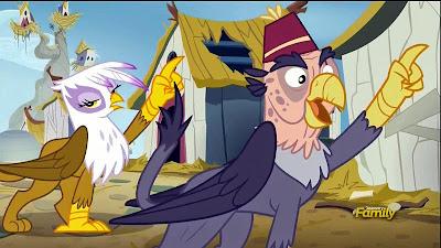 Gilda mocks Grandpa Gruff