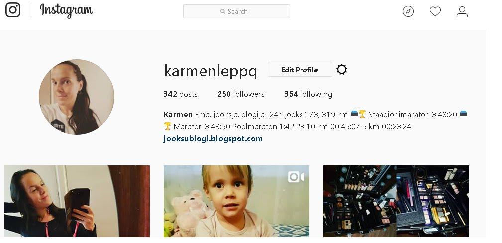 Instagrami jälgijatele:
