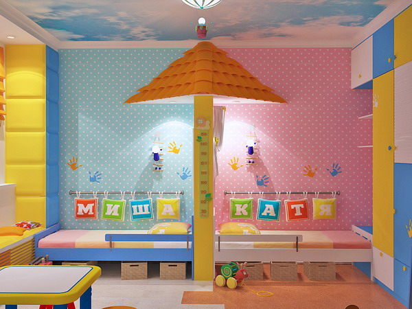 bright interiors children\u0027s rooms and cool designs for boys, girlsChildrens Girls Room #7