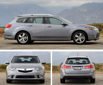 2011 Acura  on Show The Cars  Reviews 2011 Acura Tsx Sport Wagon