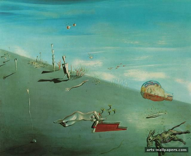 salvador dali paintings salvador dali famous paintings. Black Bedroom Furniture Sets. Home Design Ideas