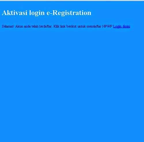 NPWP - Tutorial Pendaftaran Online Terlengkap [Updated 2015]