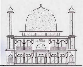 Saya Bangga Menjadi Muslimah: GAMBAR MEWARNAI MASJID