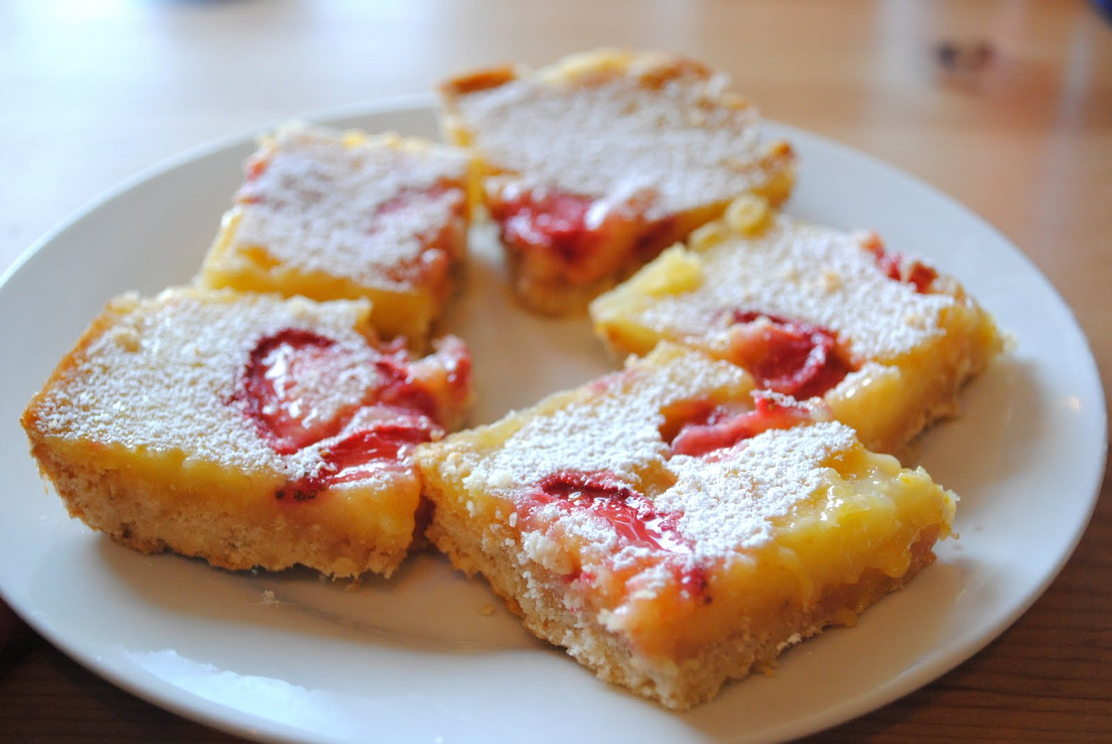 Out of the Orchard: Strawberry Lemon Bars