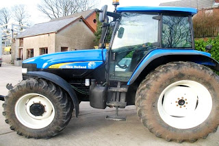 Tractor New Holland TM 130 2 731417 Tractoare New Holland TM130 second hand de vanzare 130CP An 2006