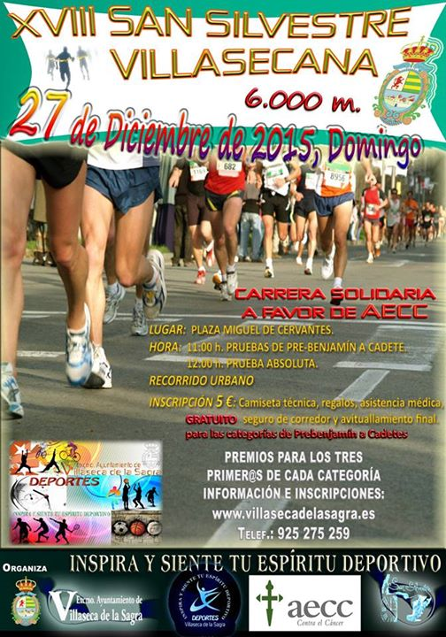 XVIII San Silvestre de Villaseca de la Sagra