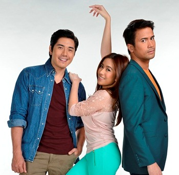 Paulo Avelino and Sam Milby Bound to Win Angeline Quinto's Heart in 'Kahit Konting Pagtingin'