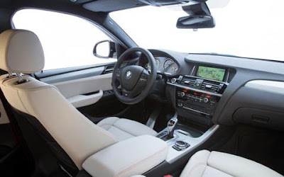 2016 BMW X4 SUV Interior