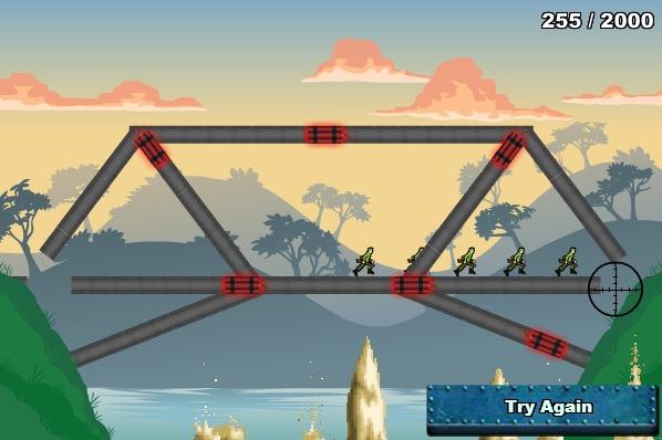 لعبة حرب تفجير وتدمير الجسور Bridge Tactics 2