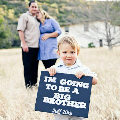 Reef Indy is going to be a big brother!
