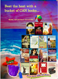 Win a bucket of books from CAN authors.
