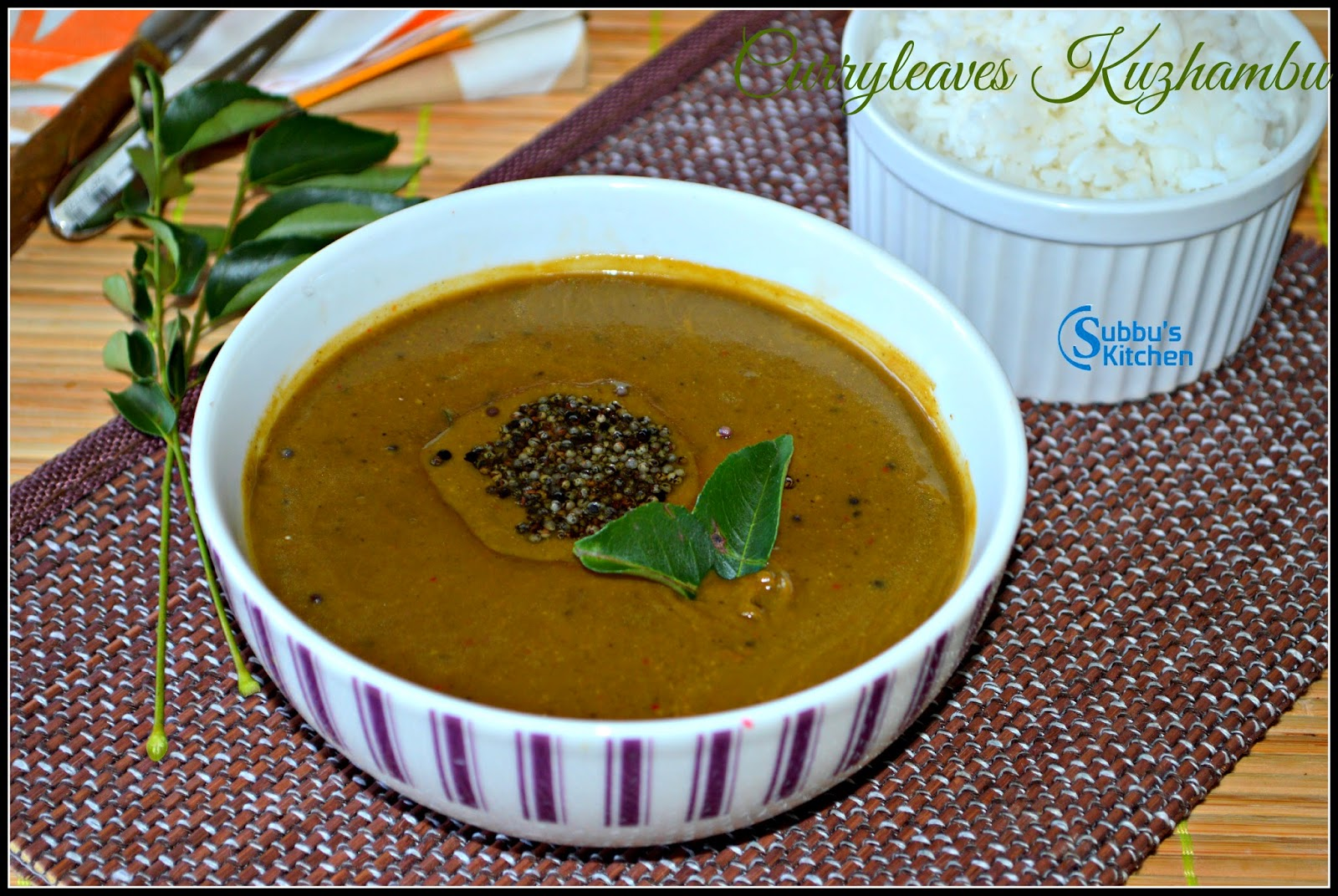 Curryleaves Kuzhambu