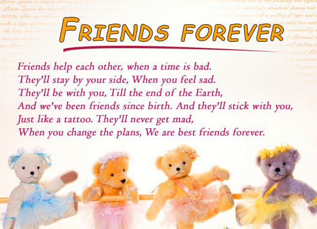 Friendship Missing Quotes In English :