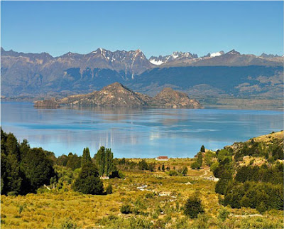 Lake General Carrera. Chile