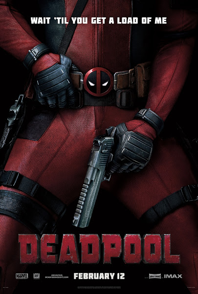 Poster Of Deadpool 2016 English DVDScr Full Movie Download