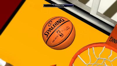 NBA 2K14 Orange Spalding Ball Mod