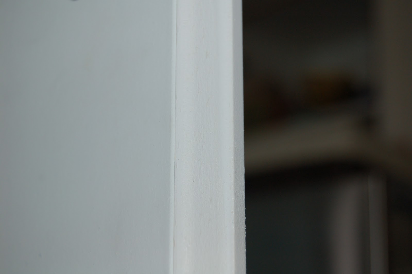 Baltic to boardwalk tiny trim makes a kitchen soffit look for Door gap filler
