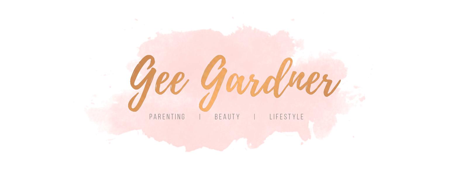 Gee Gardner - Parenting, Beauty & Lifestyle Blog