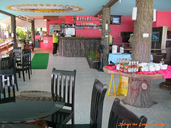 Camotes Island - resort restaurant