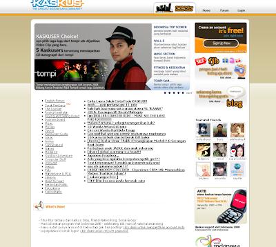 tampilan kaskus tahun 2008