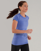 lululemon blue swiftly tech shirt