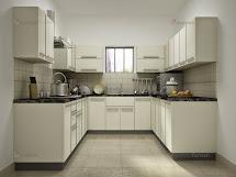 Modular U-shaped Kitchen Design