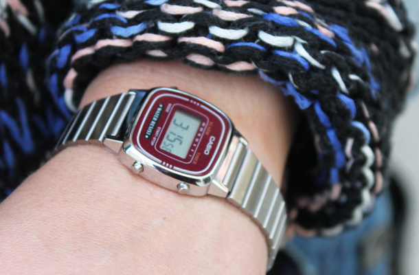 Sweet Monday blog, mini casio