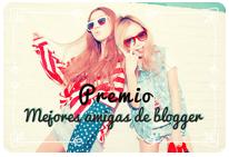 Premio Mejores amigas blogger