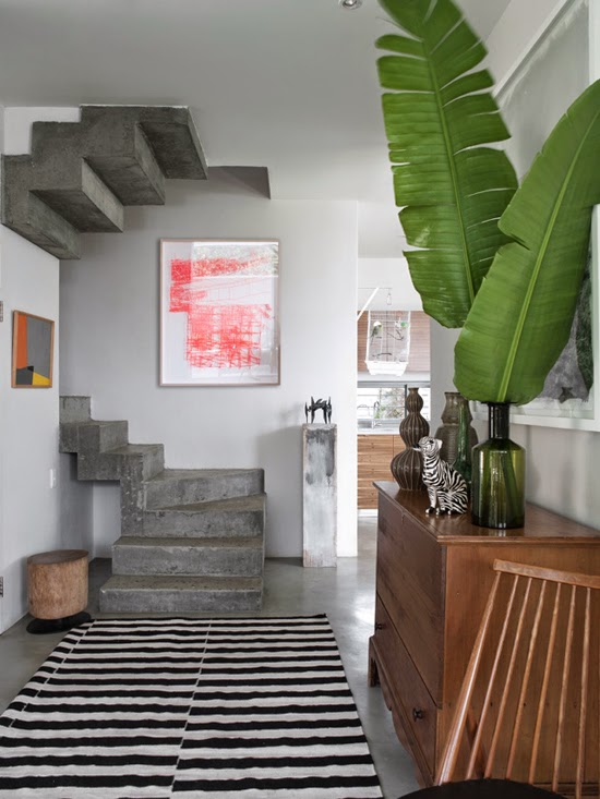 Safari Fusion blog | Shades of grey | The colour grey is the perfect neutral to make colour pop | Liss Springthorpe House, Cape Town by Antonio Zaninovic